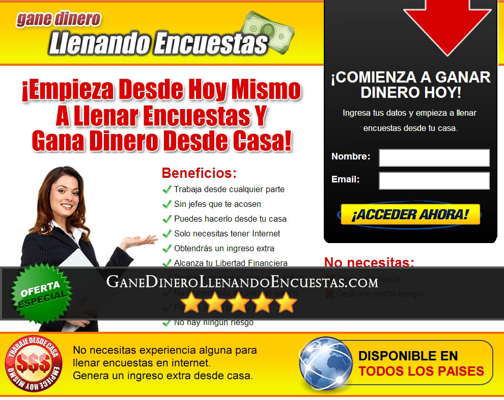 ganedinerollenandoencuestas review